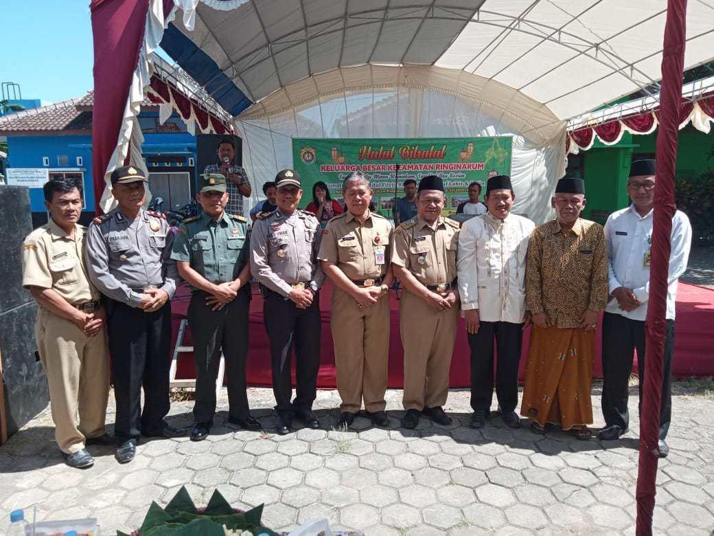 Halal Bihalal Keluarga Besar Kecamatan Ringinarum
